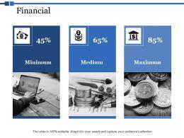 Financial Medium Maximum Ppt Powerpoint Presentation Visual Aids