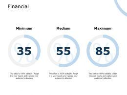 Financial Medium Minimum C820 Ppt Powerpoint Presentation Summary Styles