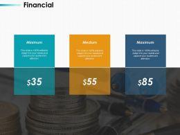 Financial Medium Minimum Ppt Infographics Design Inspiration