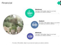Financial Medium Ppt Powerpoint Presentation Pictures Ideas