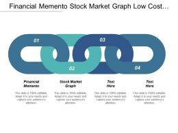 Financial Memento Stock Market Graph Low Cost Opportunities Cpb