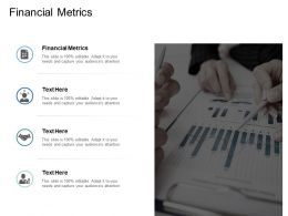 Financial Metrics Ppt Powerpoint Presentation Infographics Slides Cpb