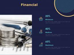 Financial Minimum L1392 Ppt Powerpoint Presentation Infographic