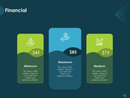 Financial Minimum M1146 Ppt Powerpoint Presentation Show Introduction