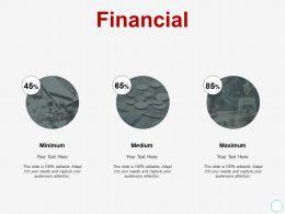 Financial Minimum Maximum A427 Ppt Powerpoint Presentation Model Elements