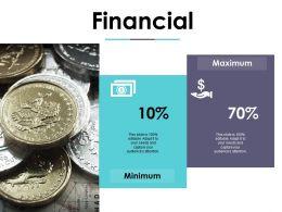 Financial Minimum Maximum Compensation Plan Ppt Show Templates