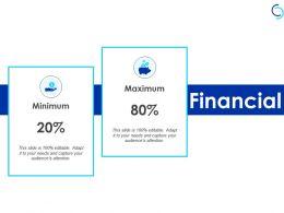 Financial Minimum Maximum F285 Ppt Powerpoint Presentation Portfolio Examples