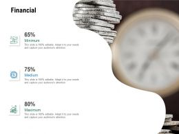 Financial Minimum Maximum Growth Ppt Powerpoint Presentation Ideas Show