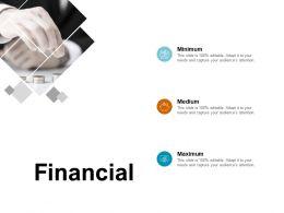 Financial Minimum Maximum K364 Ppt Powerpoint Presentation Gallery Templates
