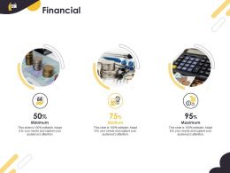 Financial Minimum Maximum Medium Ansible Ppt Powerpoint Presentation Pictures