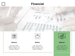 Financial Minimum Maximum Medium D336 Ppt Powerpoint Presentation Infographics Clipart