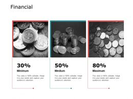 Financial Minimum Medium A666 Ppt Powerpoint Presentation Layouts Clipart Images