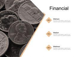 Financial Minimum Medium E379 Ppt Powerpoint Presentation File Icon