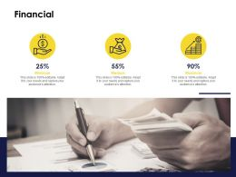 Financial Minimum Medium L1254 Ppt Powerpoint Template