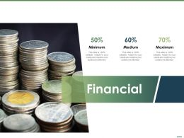 Financial Minimum Medium L1319 Ppt Powerpoint Presentation Styles Format