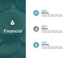Financial Minimum Medium L396 Ppt Powerpoint Display