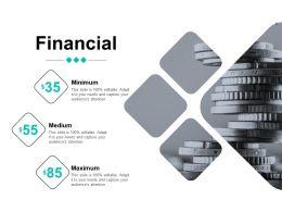 Financial Minimum Medium Maximum D58 Ppt Powerpoint Presentation Ideas Pictures