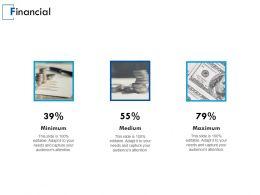 Financial Minimum Medium Maximum E36 Ppt Powerpoint Presentation Gallery Layouts