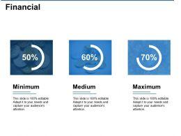 Financial Minimum Medium Ppt Visual Aids Background Images