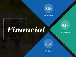 Financial Minimum Ppt Inspiration Infographic Template
