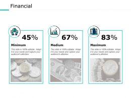 Financial Minimum Ppt Powerpoint Presentation File Background