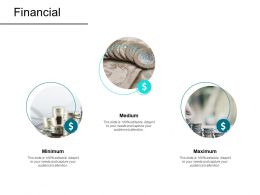 Financial Mininmum Maximum Medium F63 Powerpoint Presentation Slides