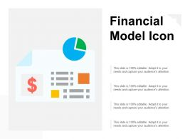 Financial Model Icon