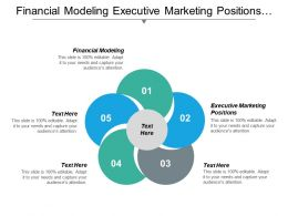 Financial Modeling Executive Marketing Positions Marketing Services Strategy Cpb