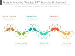 Financial Modeling Template Ppt Examples Professional