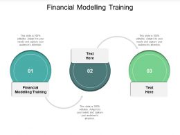 Financial Modelling Training Ppt Powerpoint Presentation Model Show Cpb