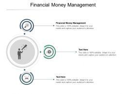 Financial Money Management Ppt Powerpoint Presentation Infographics Slides Cpb