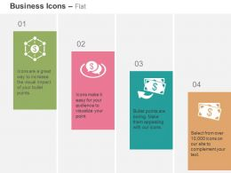 Financial Network Financial Communication Process Flow Ppt Icons Graphics