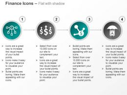 Financial Network Growth Indication Financial Protection Ppt Icons Graphics