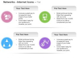Financial Network Social Networking Solutions Ppt Icons Graphics