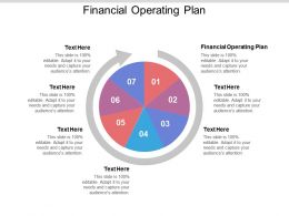Financial Operating Plan Ppt Powerpoint Presentation File Ideas Cpb