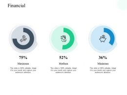Financial Percentage H212 Ppt Powerpoint Presentation Show Infographic Template