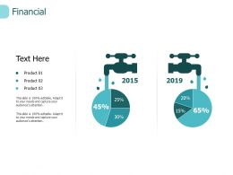 Financial Percentage I222 Ppt Powerpoint Presentation Icon Show