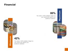 Financial Percentage Ppt Powerpoint Presentation Outline Themes