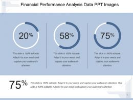 Financial Performance Analysis Data Ppt Images