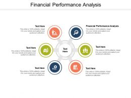 Financial Performance Analysis Ppt Powerpoint Presentation Infographic Template Show Cpb