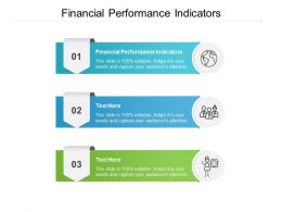 Financial Performance Indicators Ppt Powerpoint Presentation Outline Cpb