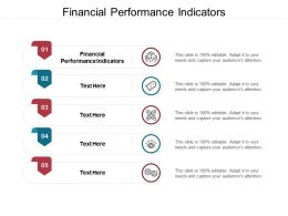 Financial Performance Indicators Ppt Powerpoint Presentation Visual Aids Files Cpb