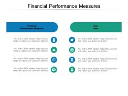 Financial Performance Measures Ppt Powerpoint Presentation Portfolio Cpb