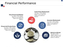 Financial Performance Ppt Infographics Background Designs