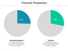 Financial Perspective Ppt Powerpoint Presentation Ideas Background Designs Cpb