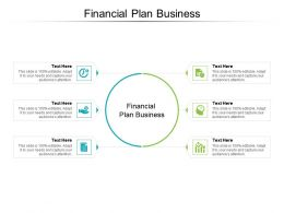 Financial Plan Business Ppt Powerpoint Presentation Ideas Infographic Template Cpb