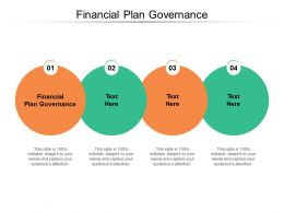 Financial Plan Governance Ppt Powerpoint Presentation Pictures Structure Cpb