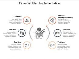 Financial Plan Implementation Ppt Powerpoint Presentation File Gridlines Cpb