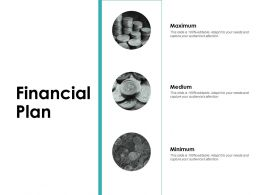 Financial Plan Minimum Ppt Powerpoint Presentation Icon Background Images