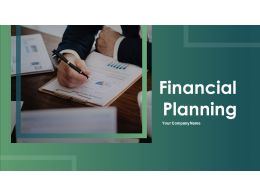 Financial Planing Powerpoint Presentation Slides